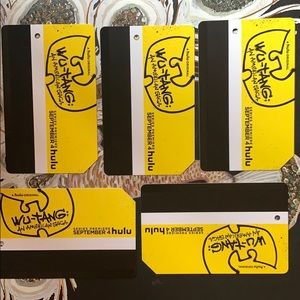 New Wu tang 5 metrocards Nyc collectible